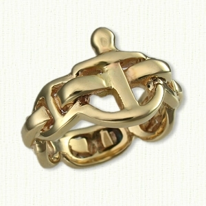Nautical Themed Wedding Rings affordable unique gold ring designs