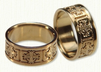 Byzantine Wedding Rings