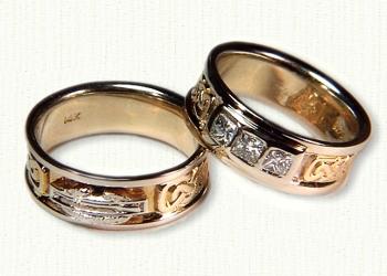 bands custom military wedding band custom military wedding band - Military Wedding Rings