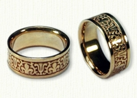 Cornice Wedding Band