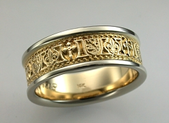 Fleur-de-lis Wedding Rings : affordable, unique Wedding Bands by deSignet. :  wedding rings new orleans rings