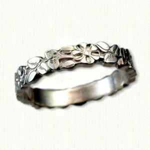 Gold Floral Wedding Band X3cb X3efloral Wedding Rings X3c B X3e