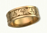 Florentine Wedding Bands