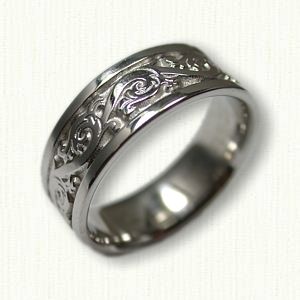 Florentine Wedding Rings Amp Custom Wedding Bands
