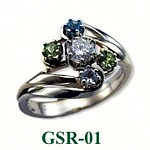 Diamond Gemstone Rings