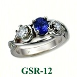 Gemstone Rings GSR-12