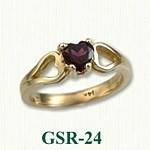 Garnet Gemstone Rings