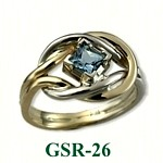 Aquamarine Gemstone Rings