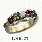 Gemstone Rings GSR-27