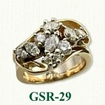 Gemstone Rings GSR-29