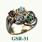 Gemstone Rings GSR-31