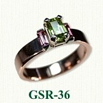 Gemstone Rings GSR-36