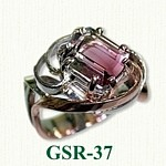 Tourmaline Gemstone Rings
