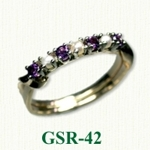 Amethyst Gemstone Rings