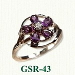 Gemstone Rings GSR-43