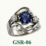 Gemstone Rings GSR-06