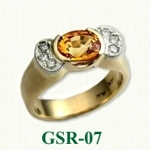 Gemstone Rings GSR-07