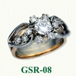 Gemstone Rings GSR-08