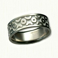 Custom Geometric Patterned Band