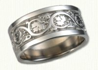 Wedding Bands in gold and platinum - ready to ship now!