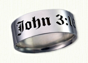 Religious Designed Custom Wedding Rings Create your own affordable