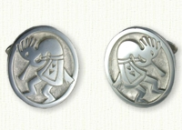 Kokopelli Cufflinks
