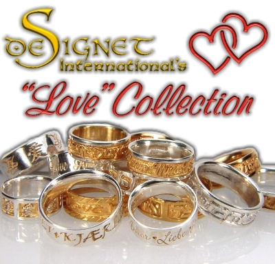 Wedding rings: deSignet's Love Collection