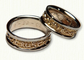 Custom Posey Wedding Rings Other Custom Designed Rings affordable