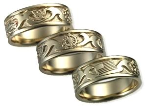 Custom Military Wedding Bands