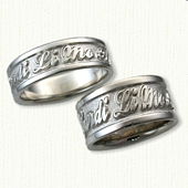 Custom Verse Wedding Band Script