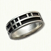Sterling Silver Custom Ogham Band