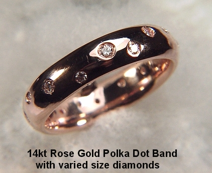 Recently I ordered a ring for my fiance rose gold 16 diamonds and