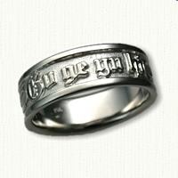 Custom Cherokee  Posey:  Gv ge yu hi and Infinity Symbol