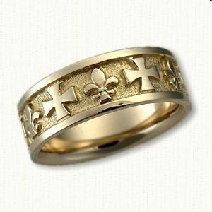 religious designed custom wedding rings create your own