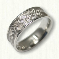 Sterling Silver Custom Story Band