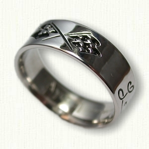 symbolic wedding rings amp celtic engagement rings
